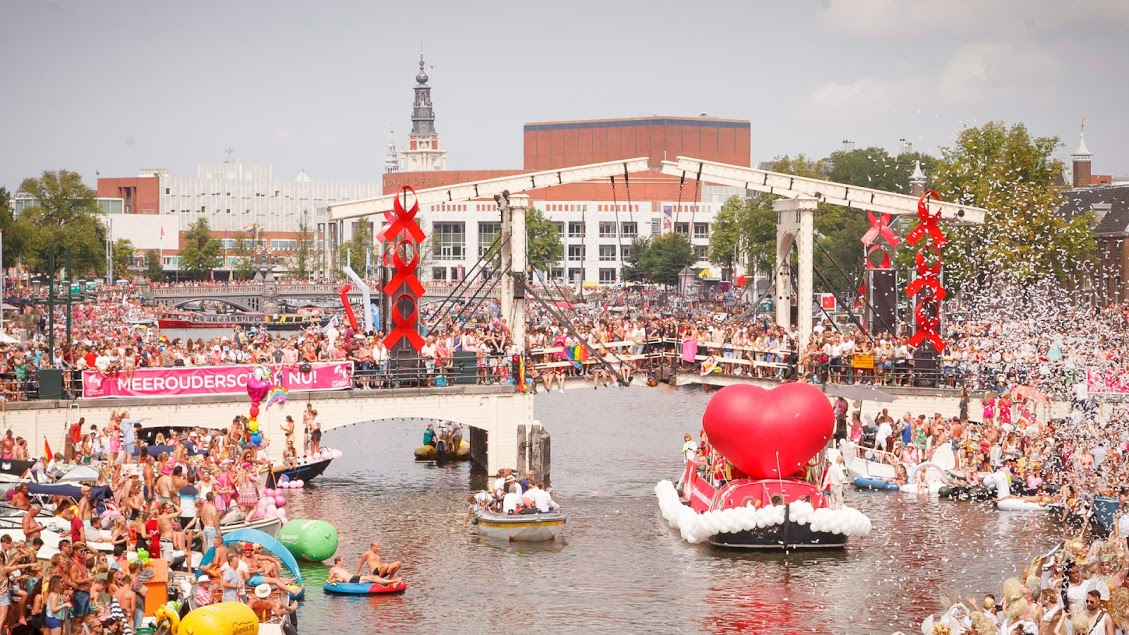 Canal pride Amsterdam