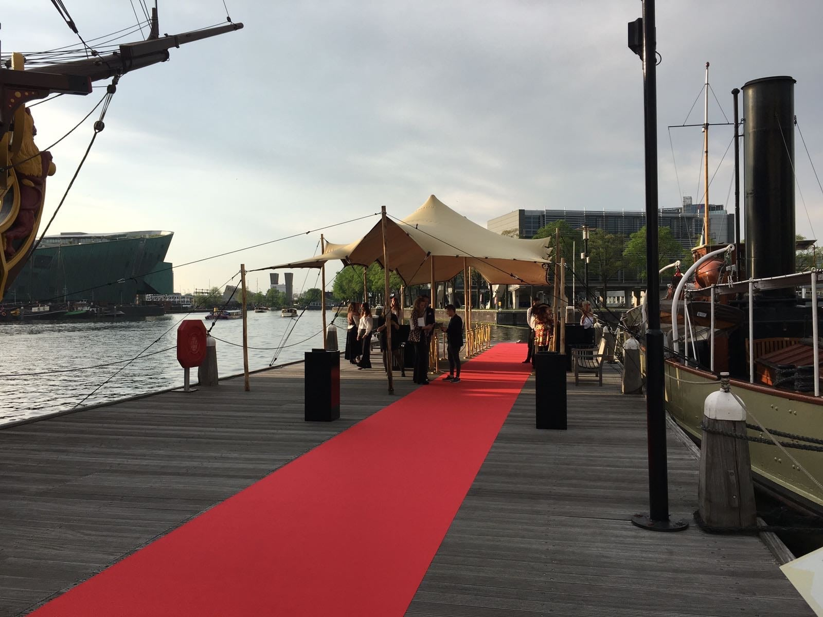 Premiere Pirates of the Carribean Scheepvaartmuseum