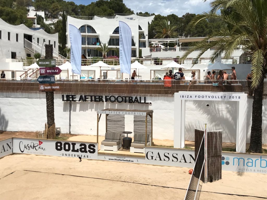 Ibiza Foot Volley Life AFter Football