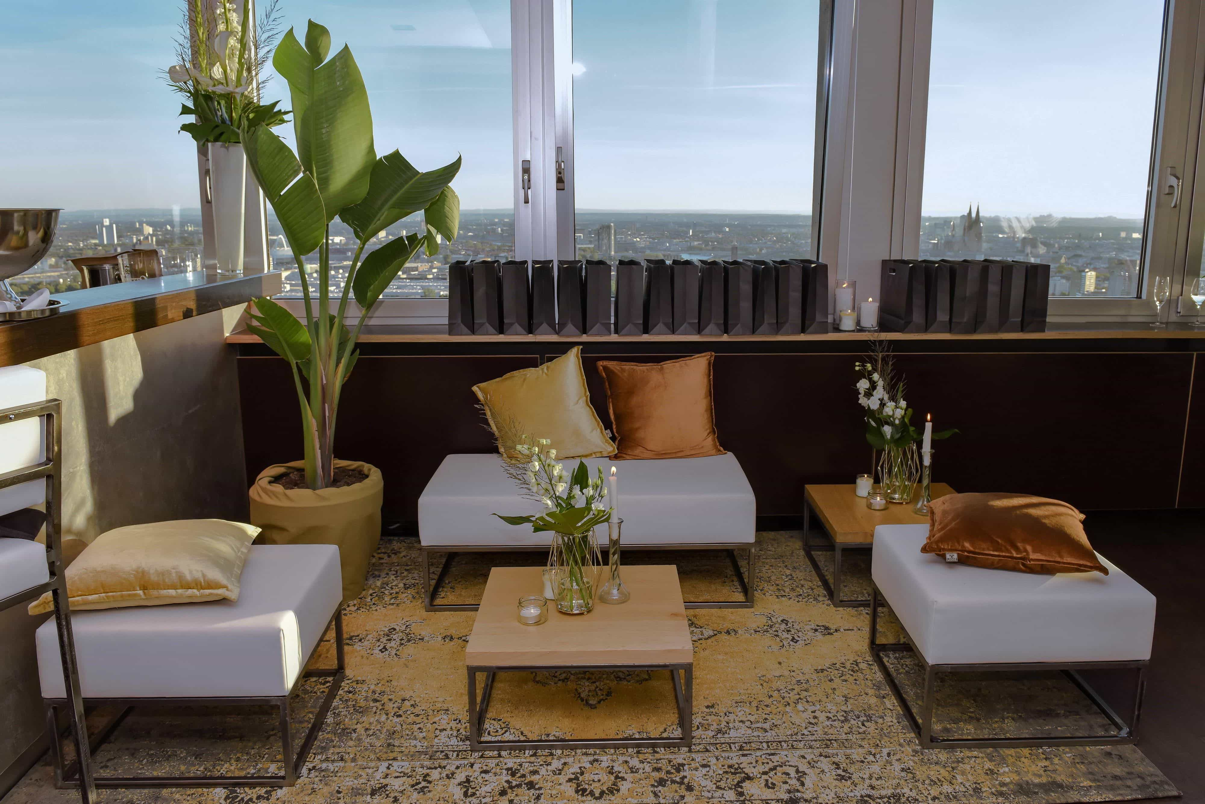 luxe loungesetting