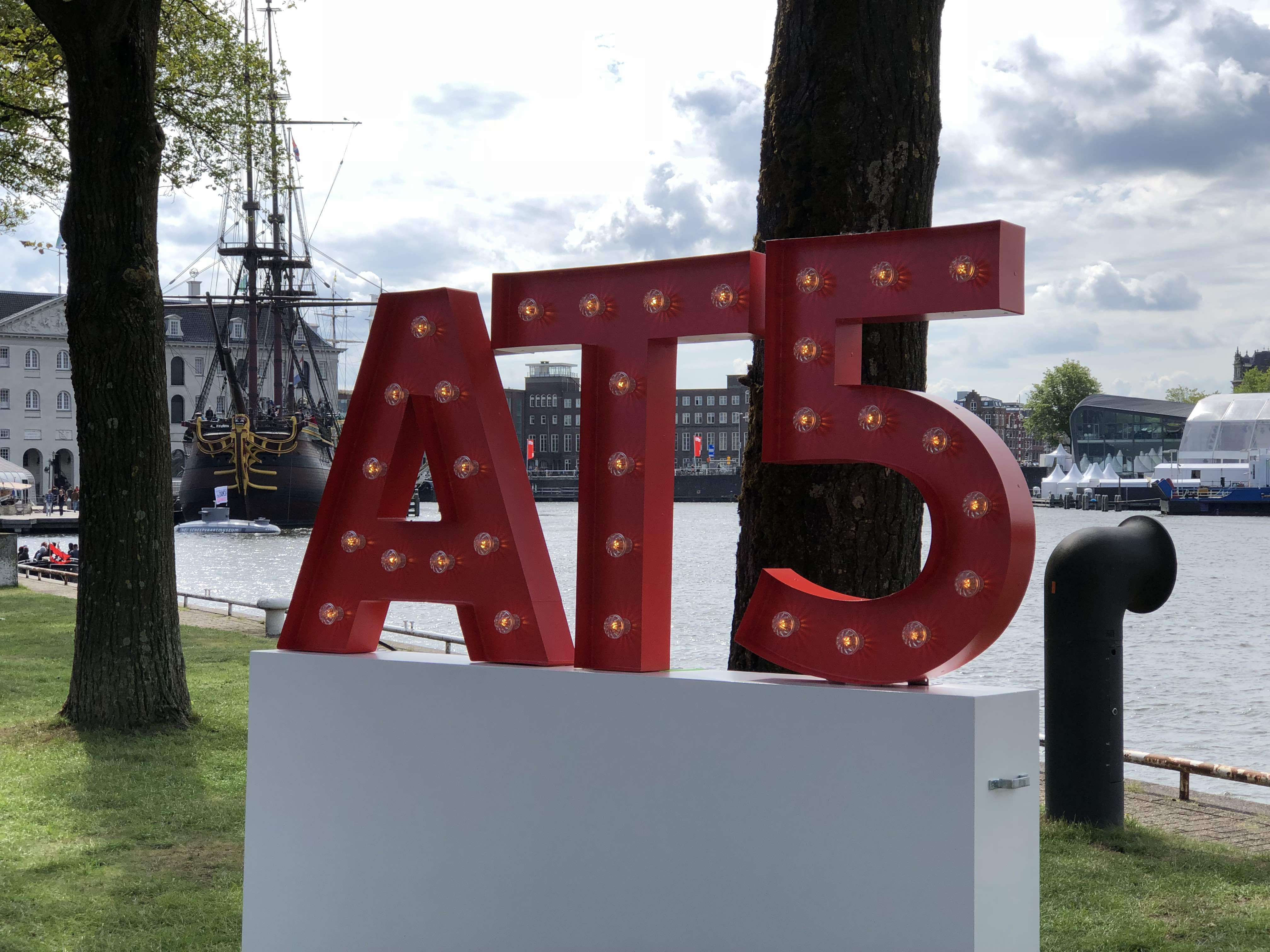 3D letters in Amsterdam