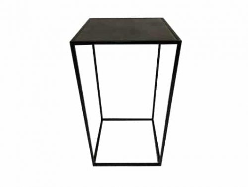Staal® Bartable Black incl. Marmer Garbon top