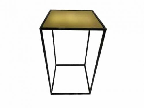 Staal® Bartable Black incl. Gold top