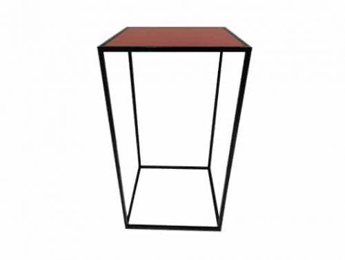 Colors® Staal Bartable Black incl. Red top
