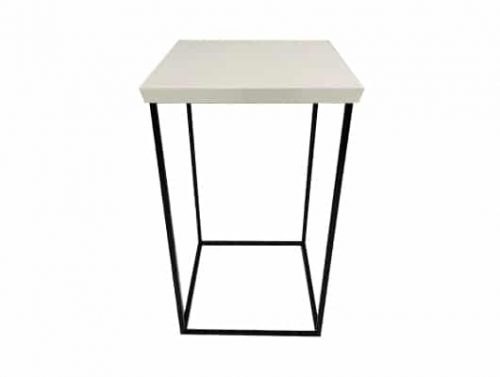 Staal® Bartable Black incl. White top