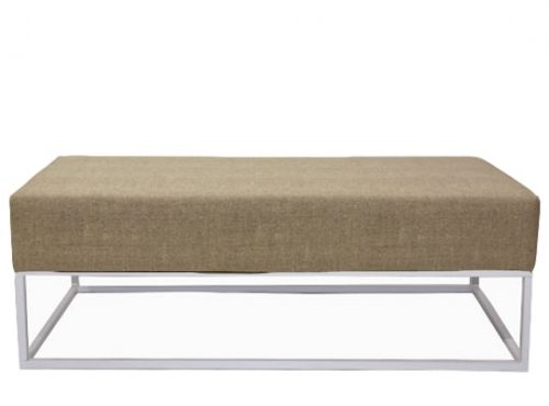 Staal® Lounge big White incl. Lava Beige seating