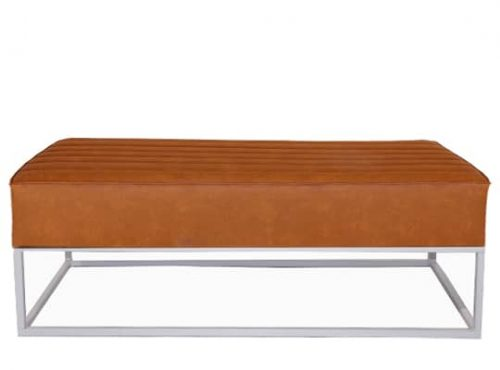 Staal® Lounge big White incl. Brown seating