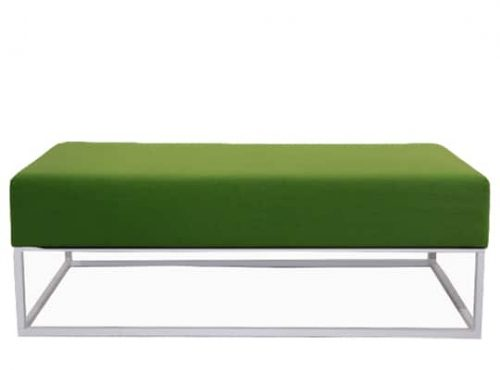 Staal® Lounge big White incl. Green seating