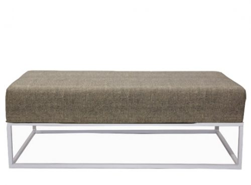 Staal® Lounge big White incl. Lava Grey seating
