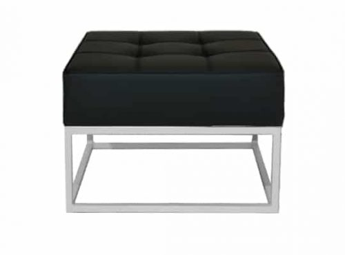 Staal® Lounge small White incl. Black seating