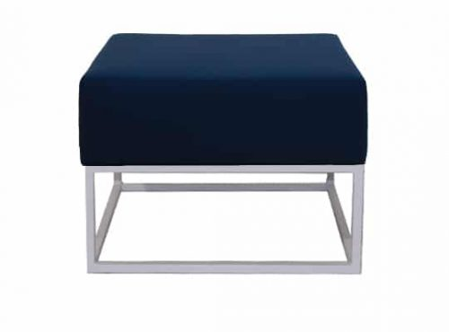 Staal® Lounge small White incl. Blue seating