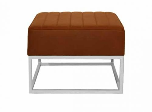 Staal® Lounge small White incl. Brown seating