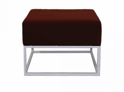Staal® Lounge small White incl. Burgundy seating