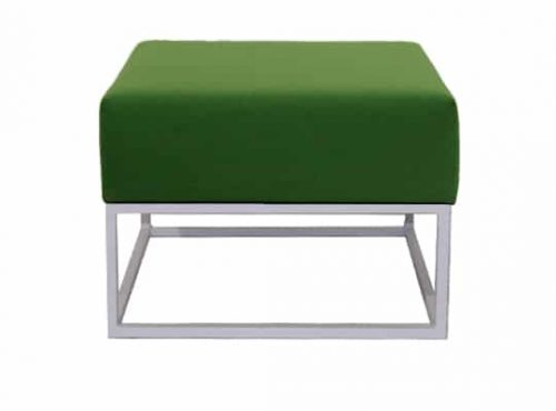 Staal® Lounge small White incl. Green seating