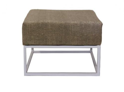 Staal® Lounge small White incl. Lava Grey seating
