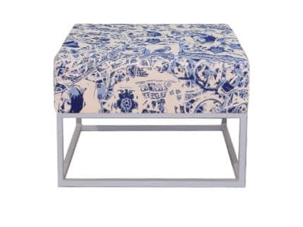 Staal® Lounge small White incl. Royal Blue seating