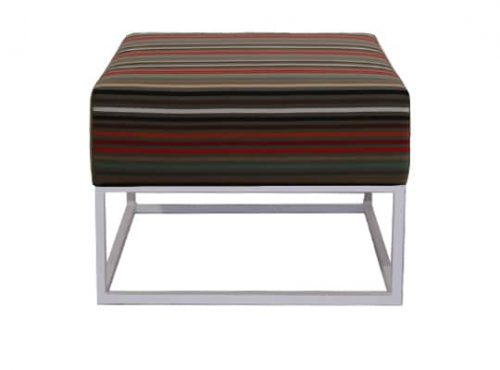 Staal® Lounge small White incl. Stripes seating