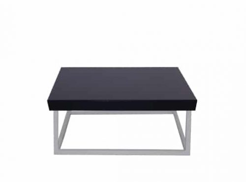 Staal® Sidetable small White incl. Black top
