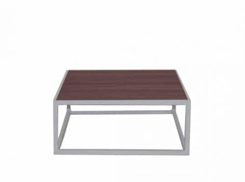 Staal® Sidetable small White incl. Natural Wooden top