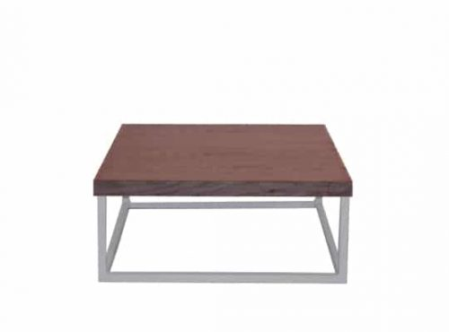 Staal® Sidetable small White incl. Oak top