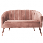 Luxe velours bank